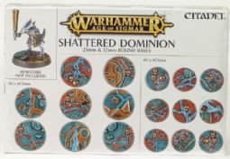 Warhammer 6696 Shattered Dominion: 25 & 32mm Round Bases